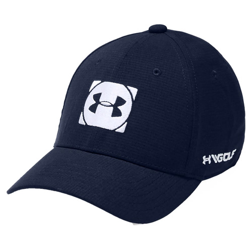Boys' Official Tour 3.0 Golf Hat, Navy/White, swatch