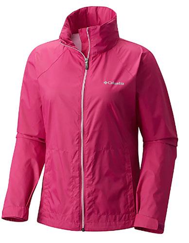 Women's Switchback Iii Jacket, Pink, swatch