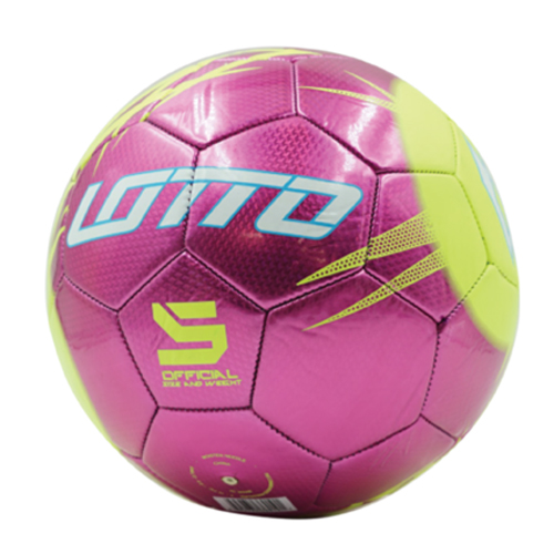 Forza II Soccer Ball, Pink/Yellow, swatch