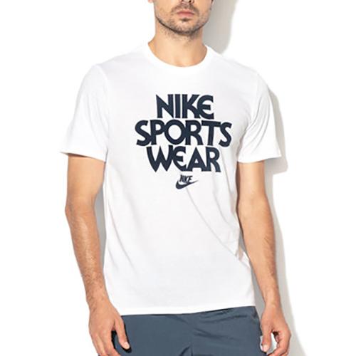 Men's Short Sleeve Concept Blue T-Shirt, White, swatch