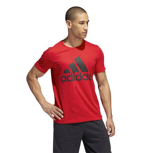 Men's Badge Of Sport Short Sleeve T-Shirt, Red, swatch