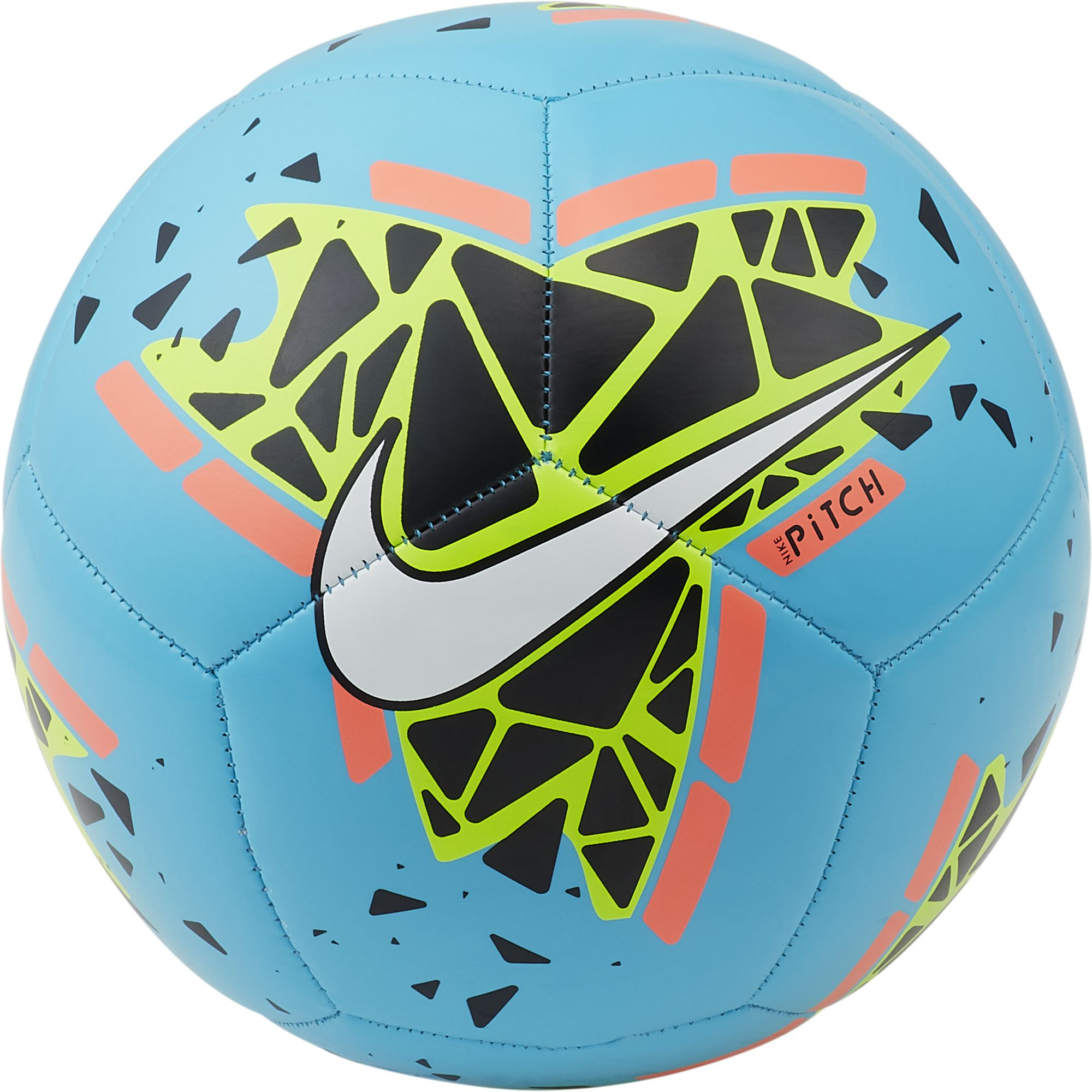 Pitch Soccer Ball, Blue/White, swatch