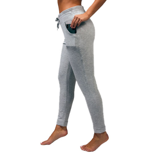 Women's Missy Joggers with Back Pocket, Heather Gray, swatch