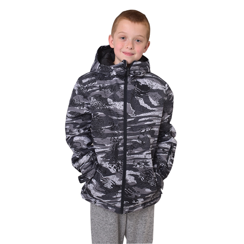 Boys' Morton Jacket, Black, swatch
