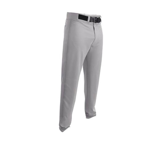 Youth HNR Game Open Bottom Baseball Pant, Gray, swatch