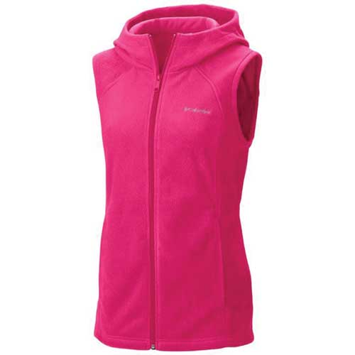 Women's Benton Springs Hooded Vest, Rose, swatch