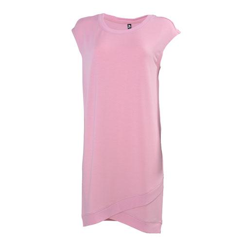 Women's Short Sleeve Dress, Pink, swatch