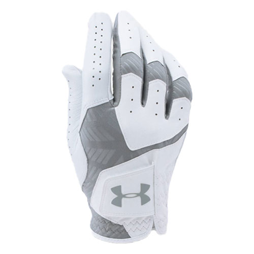 Men's Cool Switch Left Hand Golf Glove, White/Gray, swatch