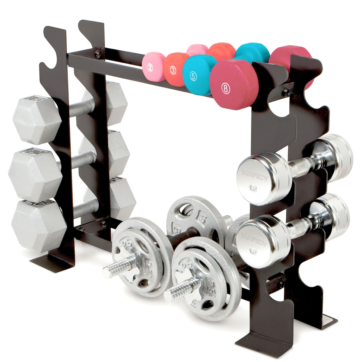 Compact Dumbbell Rack, , large