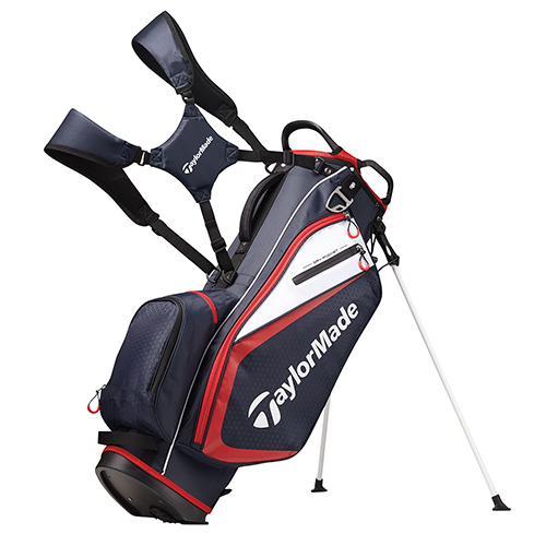 2019 Stand Bag, Black/Red, swatch
