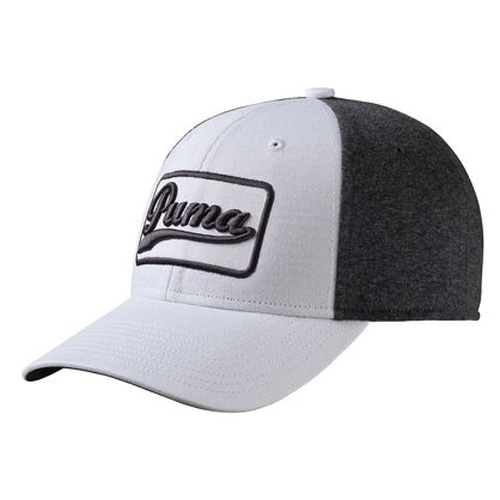 Greenskeeper Adjustable Golf Cap, White/Gray, swatch