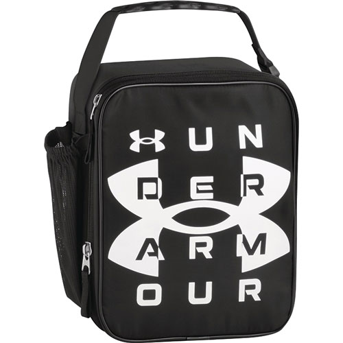 UA Scrimmage Lunch Box, Black/White, swatch