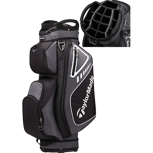 Cart Bag, Black/Gray, swatch