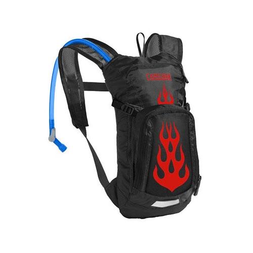 Mini M.U.L.E. 50oz Hydration Pack, Black/Red, swatch