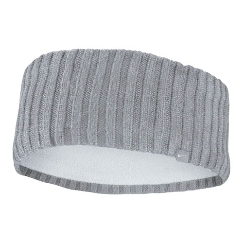 Knit Wide Headband, Heather Gray, swatch