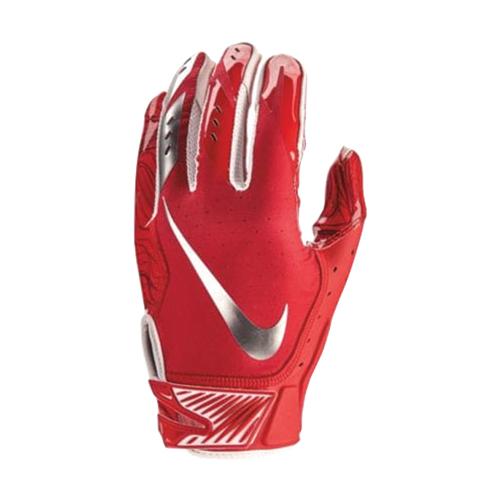 Men's Vapor Jet 5.0 Football Gloves, Red, swatch