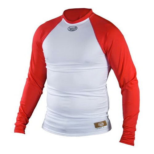 Power Core Raglan Shirt, White/Red, swatch
