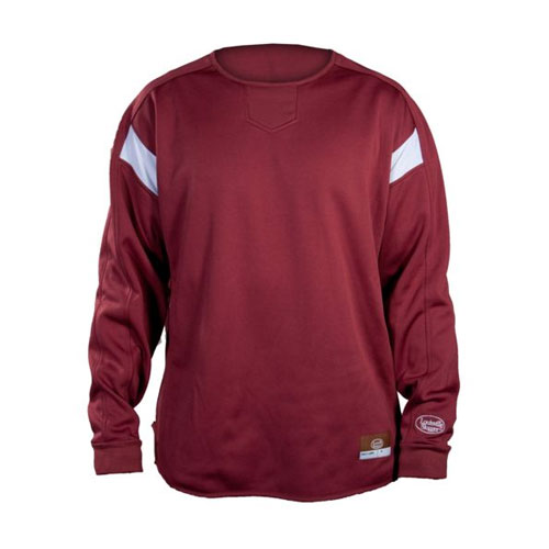 Youth Dugout Pullover, Maroon, swatch