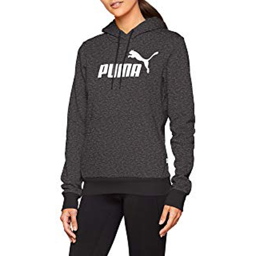 Women's Essentials Fleece Hoodie, Black, swatch