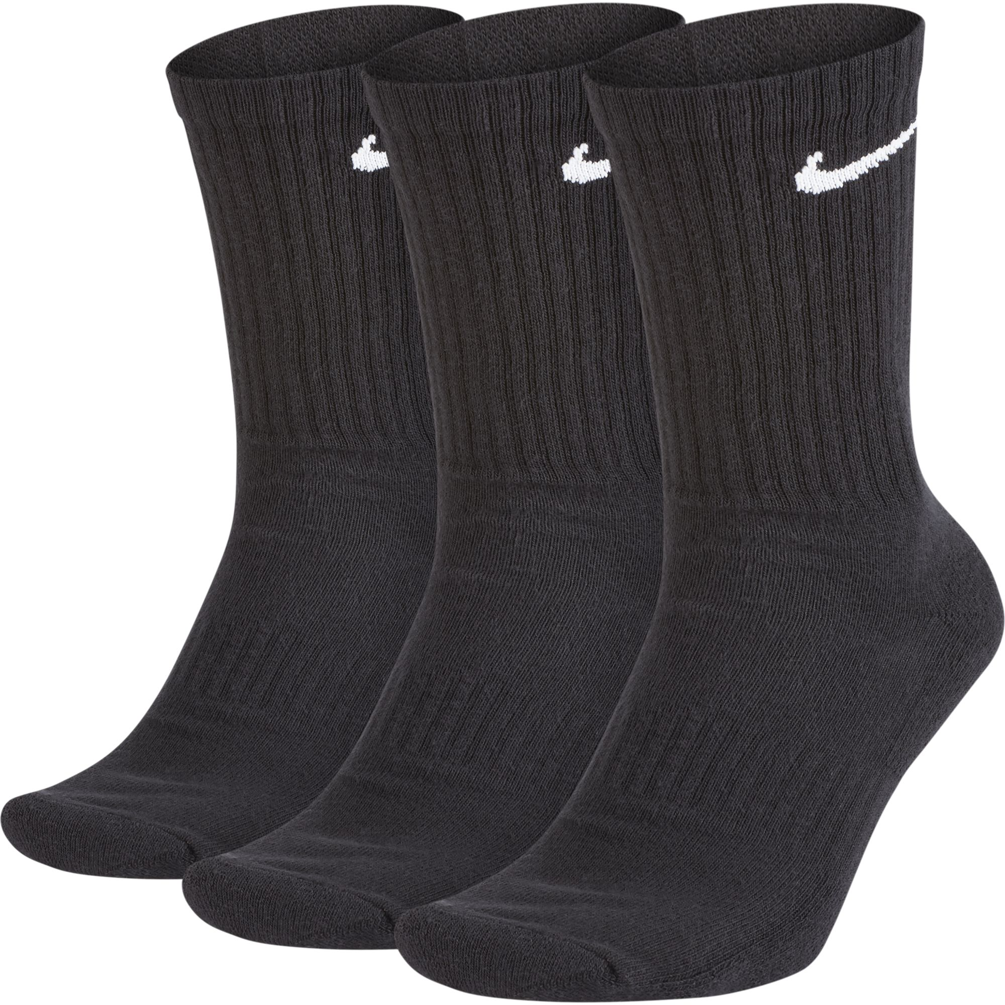 Youth 3 Pack Everyday Cushion Crew Socks, , large