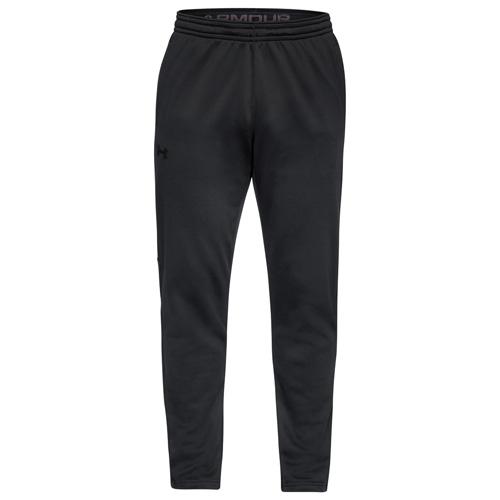 Men's Armour Fleece Pants, Black, swatch