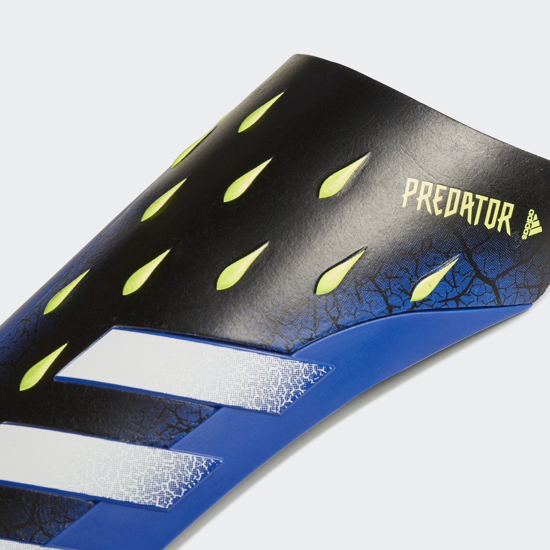 Predator 20 League Shin Guards, Black/Yellow, swatch