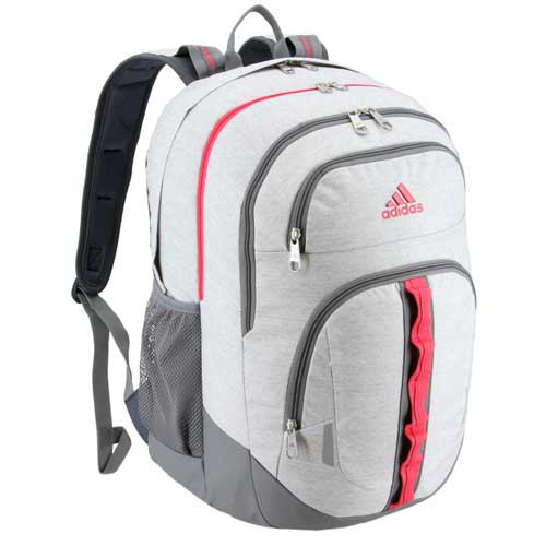 Prime V Backpack, White/Pink, swatch