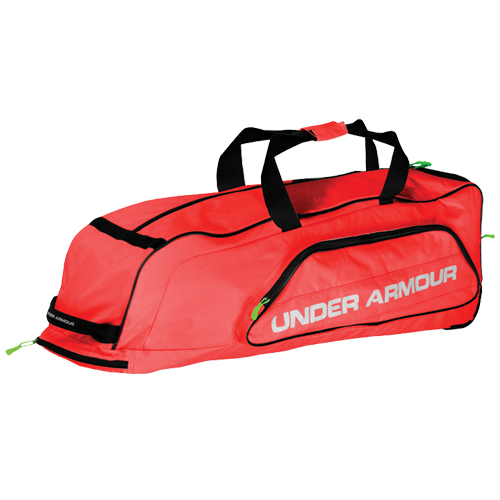 Line Drive Roller Bag, Red, swatch