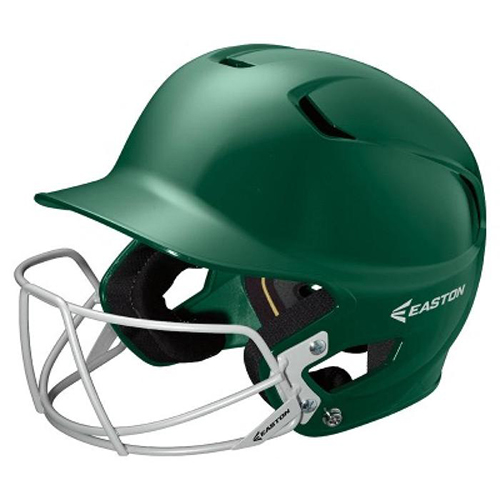 Alpha Fast Pitch Helmet with Mask, Lime, swatch