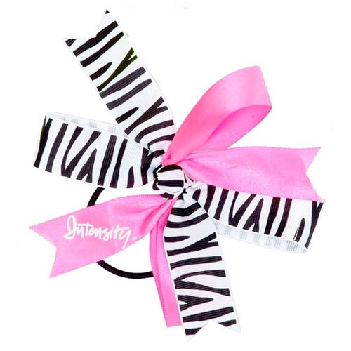 Women's Windmill Hair Bow, Pink/Black, swatch