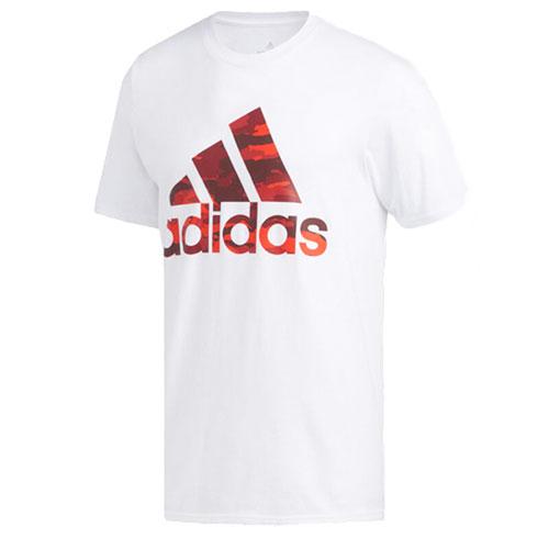 Men's Sport Camo Tee, White, swatch
