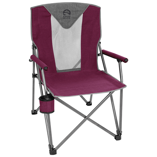 Deluxe Hard Arm Chair, Purple, swatch