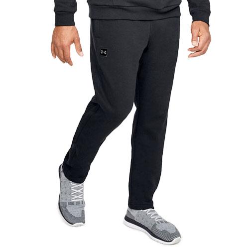 Men's Rival Fleece Pant, Black, swatch