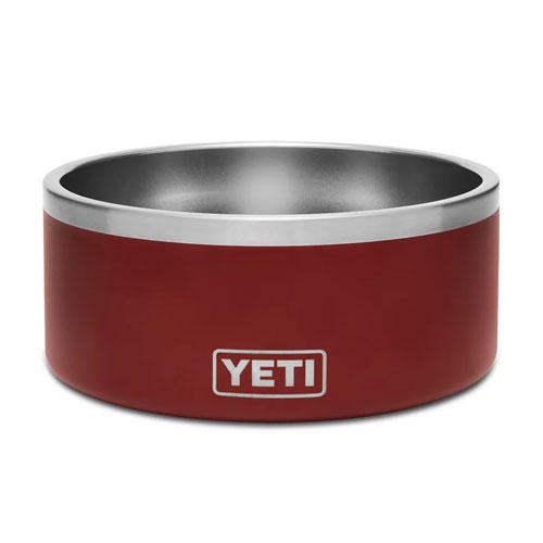 Boomer 8 Dog Bowl, Red, swatch