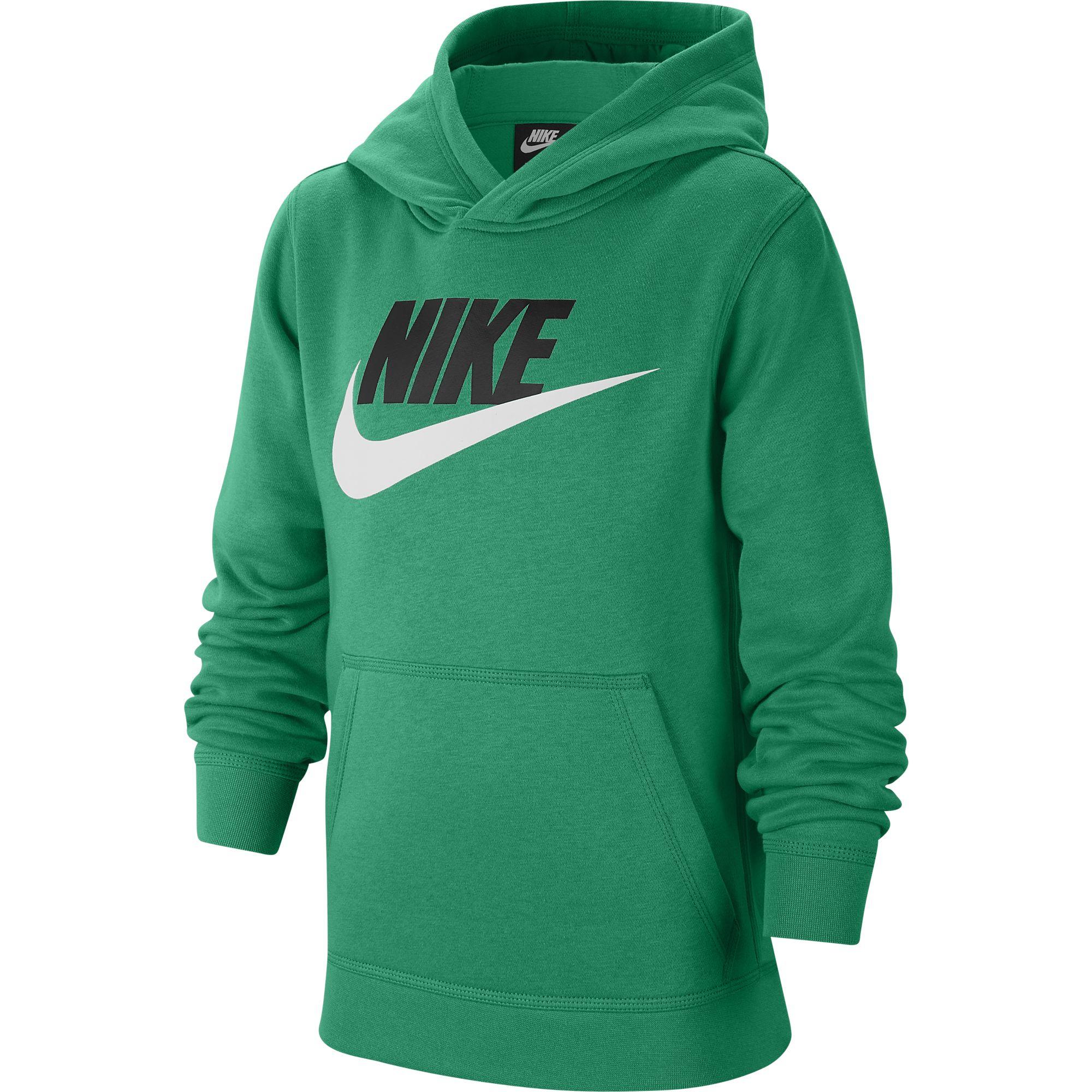 Boys' Sportswear Club Fleece, Green, swatch