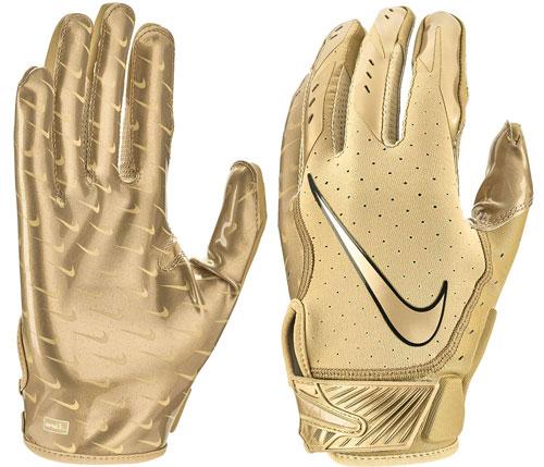 Men's Vapor Jet 5.0 Football Glove, Red, swatch