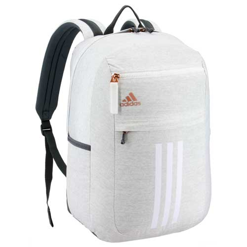 League 3 Stripe Backpack, White/Gold, swatch