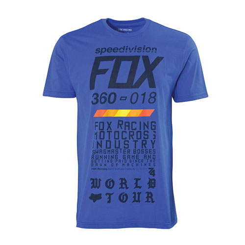Men's Paid Short Sleeve Tee, Blue, swatch