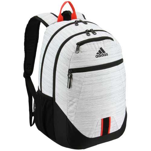 Foundation V Backpack, White/Black/Red, swatch