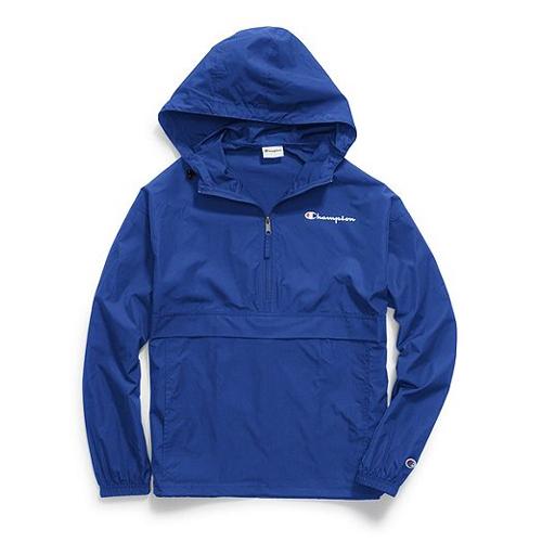 Men's Packable Jacket, Blue, swatch