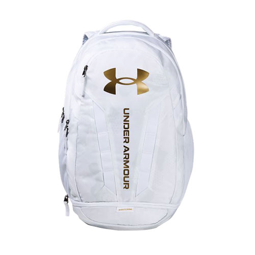 Hustle Backpack, White/Gold, swatch