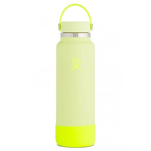 40oz Wide Mouth Water Bottle, Lemon,Citrus, swatch