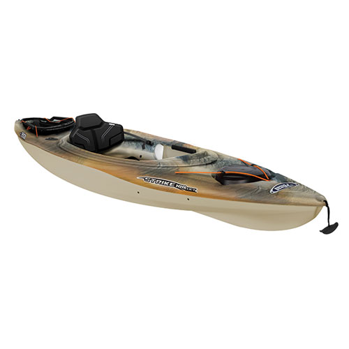 Strike 100NXT Angler Sit-in Kayak, Camouflage Brown, swatch