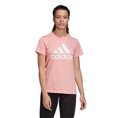 Women's Must Haves Badge of Sport Short Sleeve Tee, Pink, swatch
