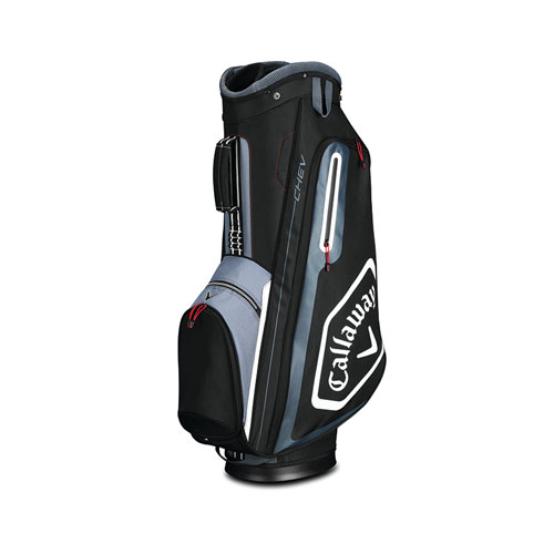 Chev Cart Golf Bag, Black/Gray, swatch