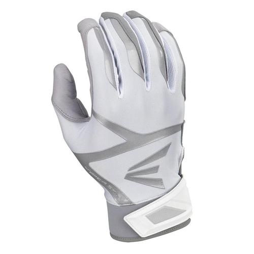 Men's Z7 VRS Hyperskin Batting Gloves, Gray/White, swatch