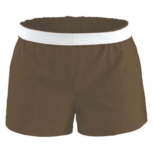 Women's Cheer Shorts, Chocolate, swatch