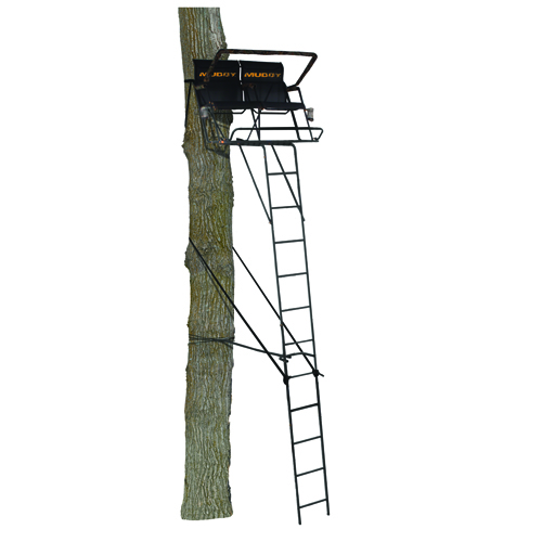 18' Stronghold 2-Man Ladder, , large