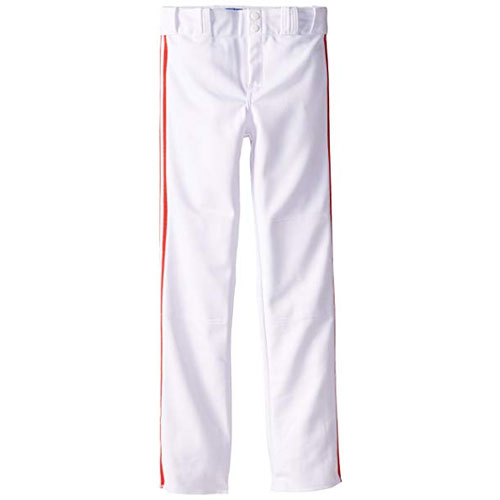 Adult Slug Trip Crown Open Hem Pant, White/Red, swatch