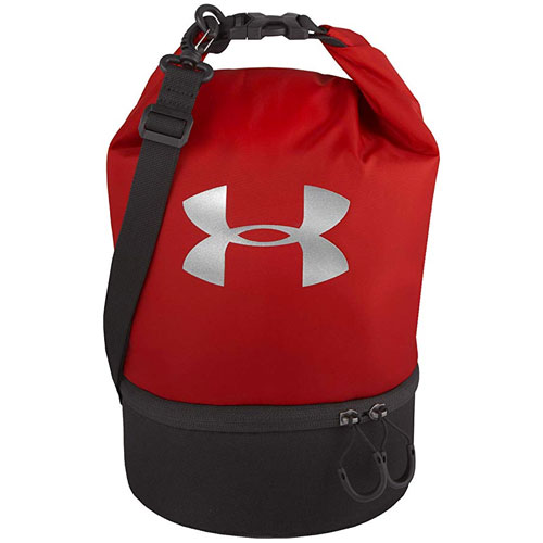Under Armour Dual Compartment Lunch Bag, Red, swatch
